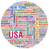 USA Cities Stock Images