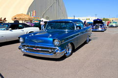 USA: Classic car - Chevrolet Bel Air (1957) Royalty Free Stock Photo