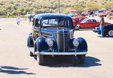 USA: Classic Car: 1937 Ford Standard Tudor Sedan Royalty Free Stock Photography