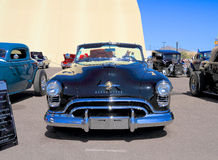 USA: Classic car - 1950 Oldsmobile 88/Convertible. This Oldsmobile with a Rocket V8 engine was on exhibition at Goodguys Rod & Custom Association's 5th stock image