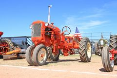 USA: Classic Tractor: 1954 Allis Chalmers Stock Image