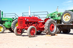 USA: Classic Tractor - IH 300 Utility (1955) Stock Photography