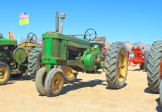 USA: Classic Tractor - 1955 John Deere Stock Photography