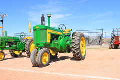 USA: Classic Tractor: John Deere, Model 720 (1956-58) Royalty Free Stock Image