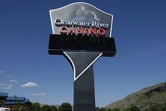USA_CLEARWATER河赌博娱乐场 免版税库存图片