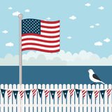Usa coastal scene Stock Images