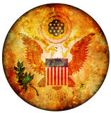 Usa coat of arms Royalty Free Stock Images