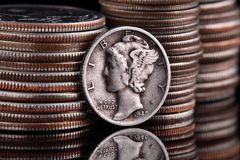 USA Coins Royalty Free Stock Image