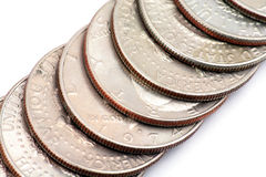 Usa coins Stock Photo