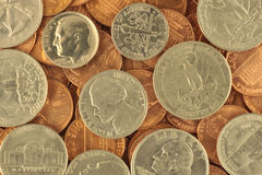 USA coins Stock Photos