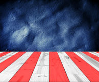 USA Colors for background. Royalty Free Stock Image