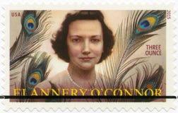 USA - 2015: ` Connor Shows Mary Flannerys O 1925-1964, amerikanischer Verfasser und Essayist Lizenzfreies Stockfoto