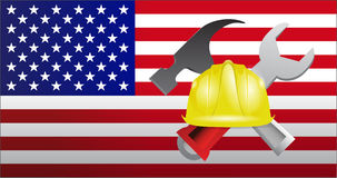 USA construction Royalty Free Stock Photos