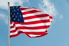 USA Country Flag Stock Photography