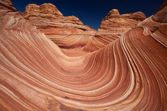 USA - coyote buttes - the wave formation Stock Photo