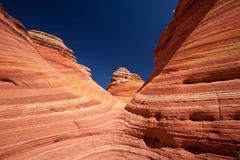 USA - coyote buttes - the wave formation Stock Image