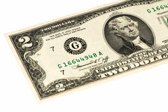 USA currancy banknote Royalty Free Stock Photography