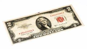 USA currancy banknote Stock Photos