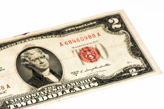 USA currancy banknote Royalty Free Stock Images