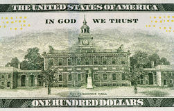 USA currency banknote Royalty Free Stock Photography
