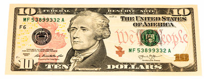 USA currency banknote  Stock Photos