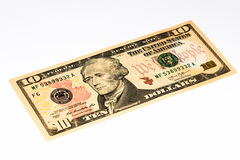 USA currency banknote Stock Image