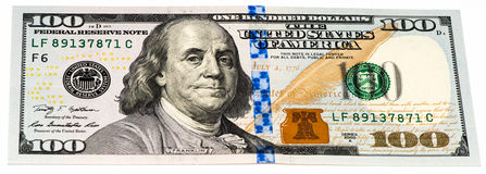 USA currency banknote Stock Photography