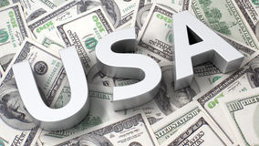 USA currency Royalty Free Stock Image
