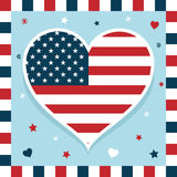 Usa decoration Stock Images