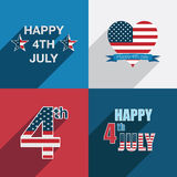 Usa decorations Royalty Free Stock Photo