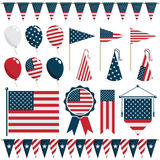 USA-Dekorationen Stockfotos