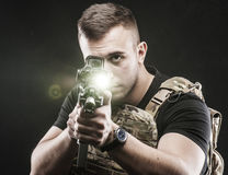 USA Delta special forces Royalty Free Stock Photo