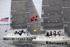 USA and Denmark Stock Photos