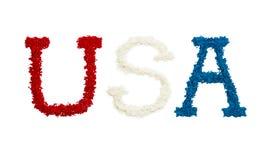 USA in der Farbe Stockbilder