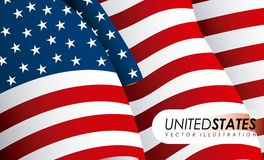 USA design Royalty Free Stock Photos