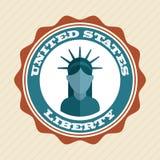 USA design Royalty Free Stock Photo