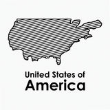 Usa design Stock Images