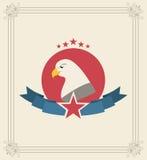 Usa design Royalty Free Stock Photography
