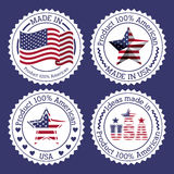 Usa design Royalty Free Stock Image