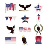 Usa design Stock Image