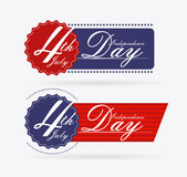 USA design. Over white background, vector illustration Royalty Free Stock Photos