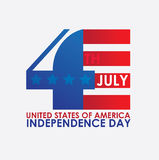 USA design. Over white background, vector illustration Royalty Free Stock Photo