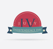 USA design. Over white background, vector illustration Royalty Free Stock Image