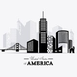 USA design. Stock Image
