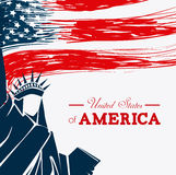 USA design. Royalty Free Stock Image