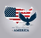 USA design. Stock Images