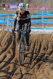 2014 USA, die Querfeldeinrennen-Angehörige radfahren Stockfotografie
