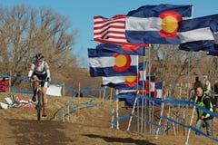 2014 USA, die Querfeldeinrennen-Angehörige radfahren Stockbild