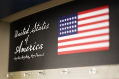 USA display. Royalty Free Stock Image