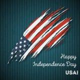 USA dnia niepodległości Patriotyczny projekt ilustracji